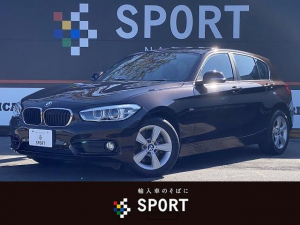 BMW 1シリーズ 118i スポーツ 純正HDDナビ インテリジェントセーフティー コンフォートアクセス クルーズコントロール レーンディパーチャー ミラーETC DVD再生 ブルートゥース