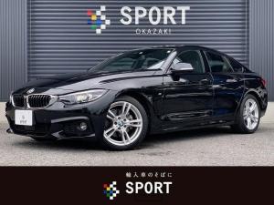 BMW 4シリーズ 420iグランクーペ Mスピリット アクティブクルーズコントロール インテリジェントセーフティ 1オーナーコンフォートアクセス HDDナビBカメラ パワーシート シートヒーター 電動リアゲート DVD再生 ブルートゥース