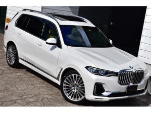 BMW X7 xDrive 35d デザインピュアエクセレンス BMW individual フル・レザー・メリノ・インテリア Bowers&Wilkinsダイヤモンドサラウンドサウンドシステム ウェルネスPKG スカイ・ラウンジパノラマガラスルーフ