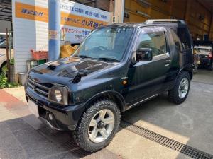 スズキ ジムニー ワイルドウインド 4WD キーレス メモリーナビTV ETC 背面タイヤケース