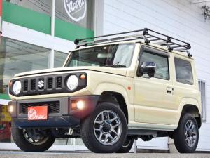 スズキ ジムニー XC /5速ミッション/4WD車/TUFREQルーフキャリア/革調シートカバー/スズキセーフティサポート/AVメインユニット/Bluetooth/LEDヘッド/シートカバー