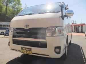 トヨタ ハイエースバン ロングスーパーGL 社外ナビ・地デジTVプッシュスタートスマートキーETC
