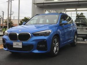 BMW X1 sDrive 18i Mスポーツ 後期・当社試乗車UP・コンフォートパッケージ・純正18インチアルミ・電動リヤゲート・LEDヘッドライト・電動シート・ミラーETC・バックカメラ・LEDフォグランプ