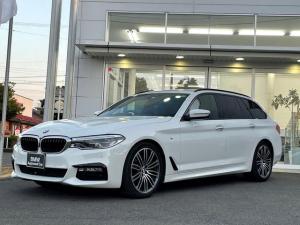 BMW 5シリーズ 523dツーリング Mスポーツ ハイラインパッケージ LEDヘッドライト・黒レザー・全方位カメラ・シートヒーター・電動シート・管理ユーザー様下取り