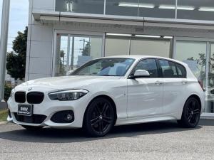 BMW 1シリーズ 118d Mスポーツ エディションシャドー 当社下取ワンオーナー車・黒革シート・シートヒーター・電動シート・純正18インチアルミ・アクティブクルーズコントロール・バックカメラ・CD・ミラーETC