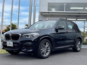 BMW X3 xDrive 20d Mスポーツハイラインパッケージ 当社試乗車UP・茶革シート・アンビエントライト・リアシートアジャスメント・全方位カメラ・LEDヘッドライト・ヘッドアップディスプレイ・純正19インチアルミ・アクティブクルーズコントロール・ミラーETC