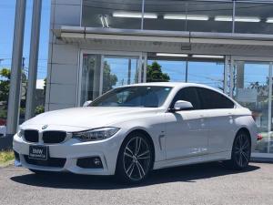 BMW 4シリーズ 420iグランクーペセレブレーションEDインスタイル アダプティブLEDヘッドライト・ACC・黒革電動シート・シートヒーター・電動トランク・19インチ・弊社管理ユーザー様下取り