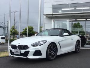 BMW Z4 sDrive20i Mスポーツ 当社試乗車UP・純正オプション19インチアルミ・黒革シート・LEDヘッドランプ・シートヒーター・パワーシート・ヘッドアップディスプレイ・アクティブクルーズコントロール・バックカメラ・ミラーETC