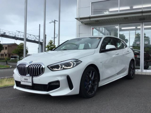 BMW 1シリーズ 118d Mスポーツ エディションジョイ+ 当社試乗車UP・Mスポーツプラス・ナビ・コンフォートパッケージ・LEDヘッドライト・電動リヤゲート・アクティブクルーズコントロール・スポーツシート・純正18インチアルミ・バックカメラ・ミラーETC