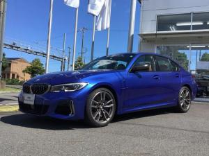 BMW 3シリーズ M340i xDrive 試乗車UP・サンルーフ・TV・パーキングアシストプラス・茶革シート・シートヒーター・パワーシート・純正19インチアルミ・全周囲カメラ・LEDヘッドランプ・アクティブクルーズコントロール・ミラーETC