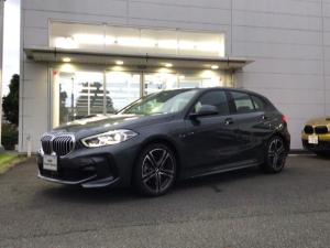 BMW 1シリーズ 118i Mスポーツ 当社試乗車UP・ナビ・ストレージパッケージ・純正18インチアルミ・運転席パワーシート・LEDヘッドライト・LEDフォグランプバックカメラ・ミラーETC