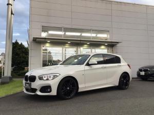 BMW 1シリーズ 118i Mスポーツ エディションシャドー 当社下取ワンオーナー車・純正18インチアルミ・茶革シート・シートヒーター・LEDヘッドライト・アクティブクルーズコントロール・ブラックキドニーグリル・バックカメラ・ミラーETC・CD