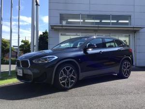 BMW X2 xDrive 20i MスポーツX 当社試乗車UP・アドバンスドパッケージ・純正19インチアルミ・LEDヘッドライト・電動リヤゲート・シートヒーター・アクティブクルーズコントロール・バックカメラ・ミラーETC