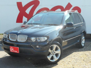 BMW BMW X5 3.0i 4WD 社外HDDナビ シートヒーター HID