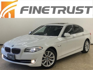 BMW 5シリーズ 535i ユーザー買取車 サンルーフ 純正ナビ&フルセグ