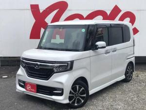 ホンダ N-BOXカスタム G・EXホンダセンシング ワンオーナー 衝突軽減