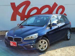 BMW 2シリーズ 218iアクティブツアラー インテリジェントセーフティ フルセグ 純正HDDナビ レーンキープ MTモード Bluetooth アイドリングストップ ETC 衝突警告 衝突軽減システム