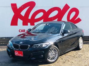 BMW 2シリーズ 220iクーペ Mスポーツ インテリジェントセーフティ 純正ナビ 衝突軽減システム レーンキープ バックカメラ ETC パドルシフト アイドリングストップ スマートキー メモリーパワーシート バックソナー クルーズコントロール