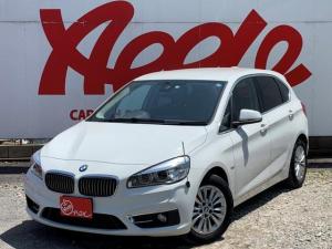 BMW 2シリーズ 218dアクティブツアラー 純正HDDナビ 電動リアゲート シートヒーター 本革黒シート パワーシート Bluetooth バックカメラ