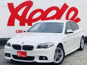 BMW 5シリーズ 523d Mスポーツ レーダークルーズコントロール レーンキープ 衝突軽減ブレーキ ブラインドスポットモニター メモリー付パワーシート パークアシスト 純正HDDナビ バックカメラ アイドリングストップ