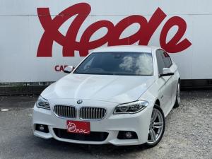 BMW 5シリーズ アクティブハイブリッド5 Mスポーツ 本革黒シート シートヒーター メモリー付パワーシート レーダークルーズコントロール レーン逸脱アラーム 衝突軽減装置 純正HDDナビ フルセグ