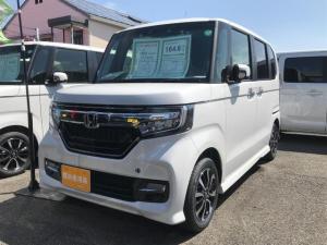 ホンダ N-BOXカスタム G・Lホンダセンシング 届け出済み未使用車 両側電動スライド