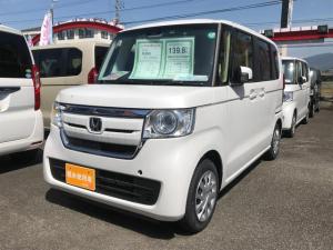 ホンダ N-BOX G・Lホンダセンシング 届け出済み未使用車 左側電動スライド