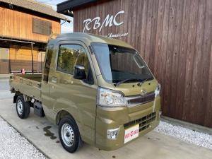 ダイハツ ハイゼットトラック ジャンボSAIIIt 4WD パワーウィンドウ ワイドシンプルCDチューナー搭載 LEDヘッドランプ LEDフォグランプ