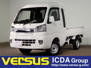 ダイハツ ハイゼットトラック ジャンボSAIIIt /届出済未使用車/スマートアシスト/4WD/5速ミッション/キーレス/ドアバイザー/フロアマット