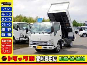 マツダ タイタントラック ダンプ 2t 3方開 フルワイドロー 新明和 準中型免許