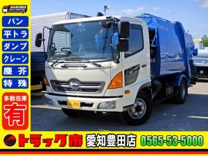 日野 レンジャー パッカー車 プレス式 7.1立米 モリタエコノス 6MT