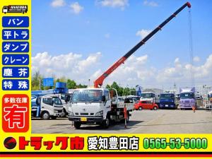 UDトラックス コンドル 5段クレーン 平 5方開 3t積 3人 床板張り AT車