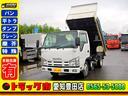 いすゞ/エルフトラック 強化ダンプ 3t コボレーン付 フルフラットロー AT車