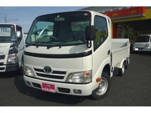 トヨタ ダイナトラック Sシングルジャストロー 0.95トン平ボディー 600kg対応垂直パワーリフト 5MT 総重量3.5トン未満