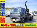 三菱ふそう/ファイター 脱着式コンテナ専用車 増トン フックロール ベッド 6MT