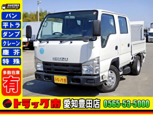いすゞ エルフトラック  Wキャブ パワーゲート ETC キーレス 2t 小型 6人乗 5MT