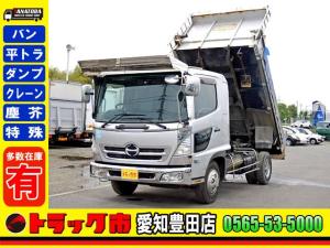 日野 ヒノレンジャー  土砂ダンプ 電動コボレーン ベット バックカメラ 3.7t 中型 6MT