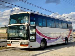 いすゞ 52人乗り観光バス 貫通トランク2本 トイレ付き 中二階