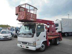 いすゞ エルフトラック 高所作業車 12m アイチ製 5MT 鉄製バケット