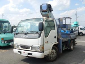 いすゞ エルフトラック 高所作業車 12m 5MT 鉄製バケット タダノ製