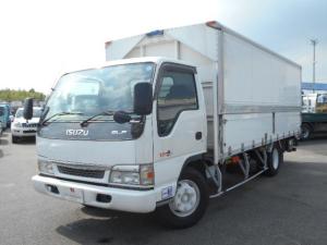 いすゞ エルフトラック 3.5トン アルミウイング ワイド超超ロング PG付き