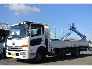 UDトラックス コンドル 平ボディー積載量3350kg ワイド 荷台床板張り