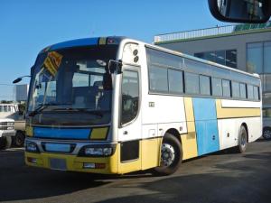 日産ディーゼル スペースアロー 観光バス 57人乗り 貫通トランク 自動扉