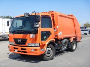 UDトラックス コンドル プレス式パッカー車 増トン 容積8.2立米 連続作動 塵芥車