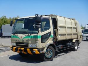三菱ふそう ファイター 増トン プレス式パッカー車 容積10.2立米 塵芥車