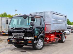 UDトラックス コンドル アームロール 増トン 8t ロング仕様 ツインホイスト
