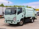 いすゞ/エルフトラック プレス式パッカー車 容積6立米 ワイド 連続スイッチ 3t