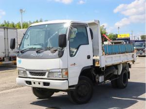 いすゞ エルフトラック  2tダンプ 4WD コボレーン付き 超高床