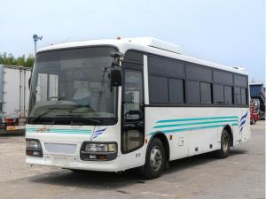 いすゞ  ガーラミオ 29人乗りバス サロン仕様 貫通トランク2室 スイング式自動扉 ニーリング