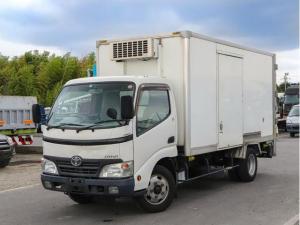 トヨタ ダイナトラック  全低床 1.5トン 冷凍車 パワーゲート付 標準ロング 中温冷凍車 デンソー ラッシングレール